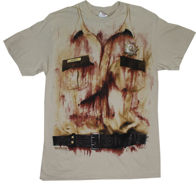 Rick Grimes Costume - Walking Dead T-shirt