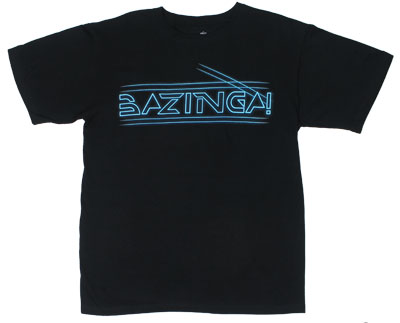Electric Bazinga - Big Bang Theory T-shirt