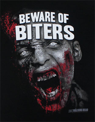 Beware Of Biters - Walking Dead T-shirt