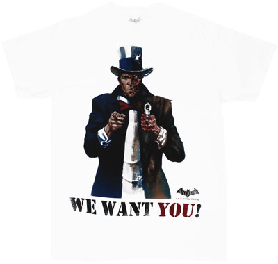 We Want You! - Batman Arkham City T-shirt