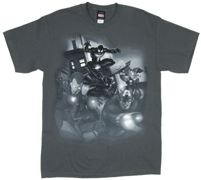 Tonal Warriors - Marvel Comics T-shirt