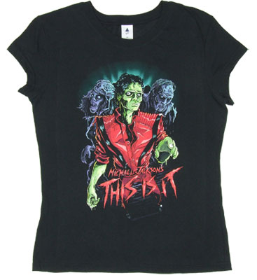 Zombie - Michael Jackson Sheer Women's T-shirt
