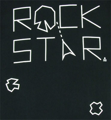 Rock Star - Asteroids - Atari T-shirt
