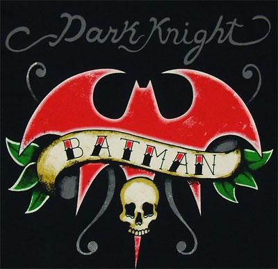 Dark Knight Tattoo - Batman - DC Comics T-shirt