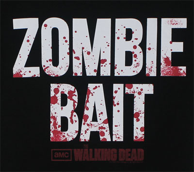 Zombie Bait - Walking Dead Sheer Women's T-shirt