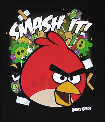 Smash It! - Angry Birds Youth T-shirt