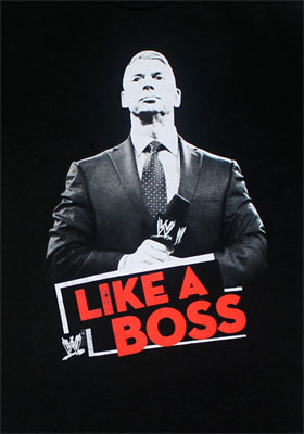 Like A Boss - WWE T-shirt