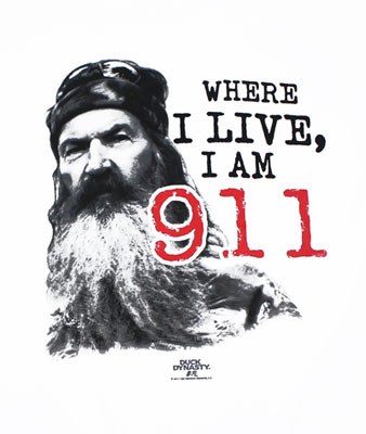 II Am 911 - Duck Dynasty T-shirt