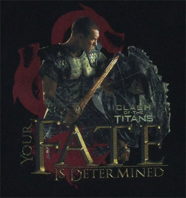 Your Fate Is Determined - Clash Of The Titans T-shirt