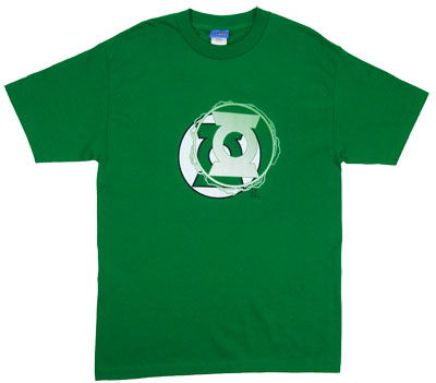 Green Lantern Energy Logo - DC Comics T-shirt