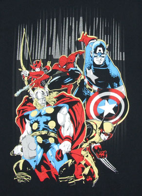 Heroes Arise - Marvel Comics T-shirt