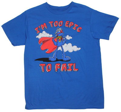 Too Epic To Fail - Sesame Street Sheer T-shirt