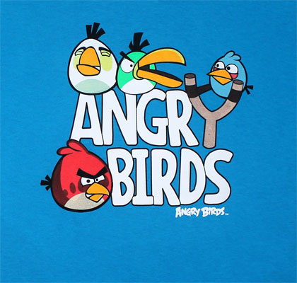 Angry Birds Youth T-shirt