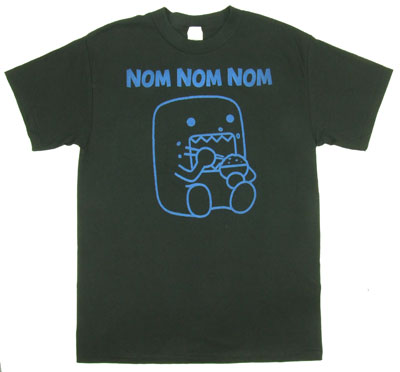 Nom Nom Nom - Domo-Kun T-shirt