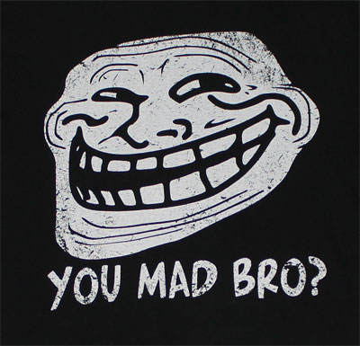 You Mad Bro? - You Mad? Sheer T-shirt
