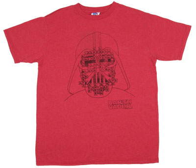 Darth Vader Scrabble - Junk Food Men's T-shirt