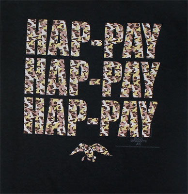 Camoflauge Hap-Pay - Duck Dynasty Youth T-shirt