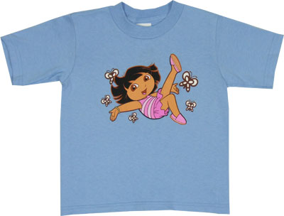 Dora With Butterflies - Dora The Explorer Toddler T-shirt