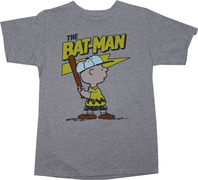 The Bat-Man - Peanuts Sheer T-shirt