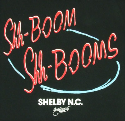 Shh-Boom Shh-Booms - Eastbound And Down T-shirt