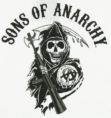 Sons Of Anarchy Sheer Womens T-shirt