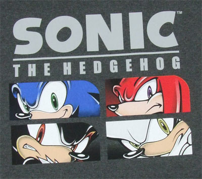 Eyes - Sonic The Hedgehog T-shirt