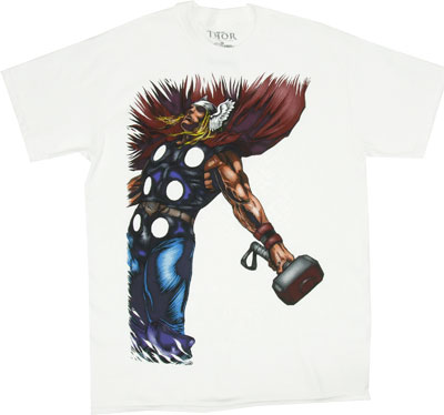 Dropping The Hammer - Thor - Marvel Comics T-shirt
