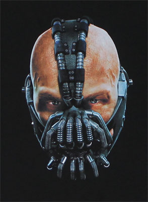 Painted Bane - Dark Knight Rises T-shirt
