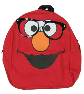 Elmo Glasses - Sesame Street Mini-Backpack