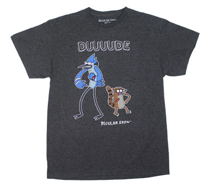 Duuuude - Regular Show T-shirt