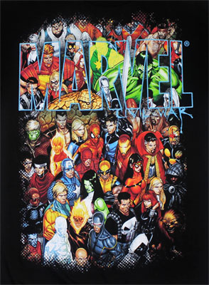 Marvel Group Shot - Marvel Comics T-shirt