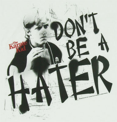 Karate Kid Hater Mens Tee