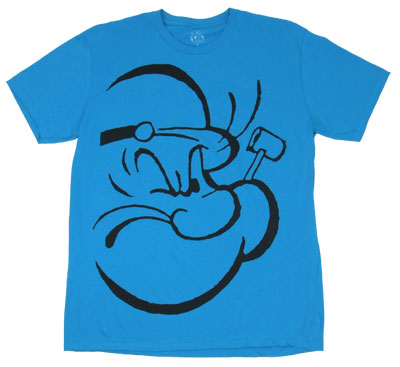 Popeye Face - Popeye Sheer T-shirt
