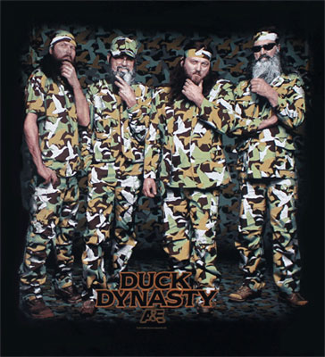 Jase Si Willie And Phil Beard Stroke - Duck Dynasty T-shirt