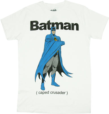 (Caped Crusader) - DC Comics T-shirt