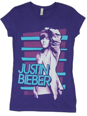 Dots & Stripes - Justin Bieber Sheer Women's T-shirt