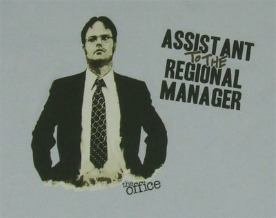 Assistant To The Regional Manager - The Office Sheer T-shirt