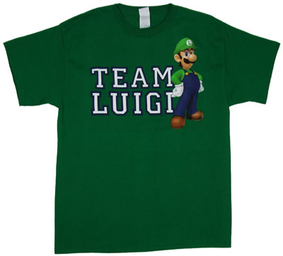Team Luigi - Nintendo T-shirt