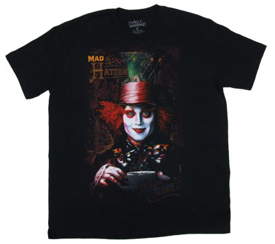Mad Hatter - Alice In Wonderland Sheer T-shirt