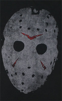Jason Mask - Friday The 13th Sheer Women's T-shirt