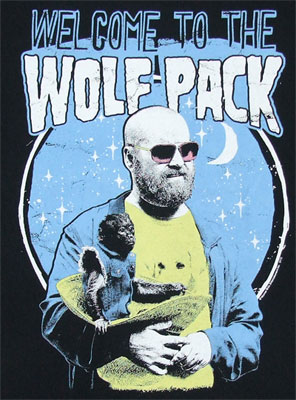 Welcome To The Wolfpack - Hangover II T-shirt
