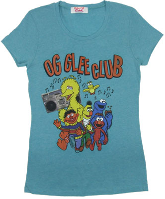 OG Glee Club - Sesame Street Sheer Women's T-shirt