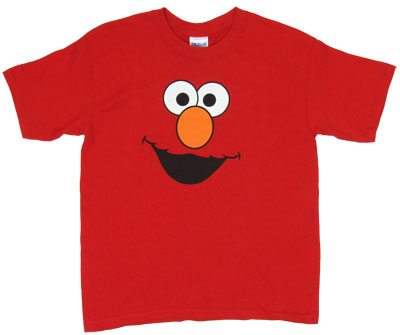 Elmo Face - Sesame Street Youth T-shirt