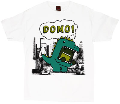Godzilla Domo - Domo-Kun T-shirt