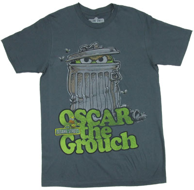 Hiding In The Garbage - Sesame Street T-shirt