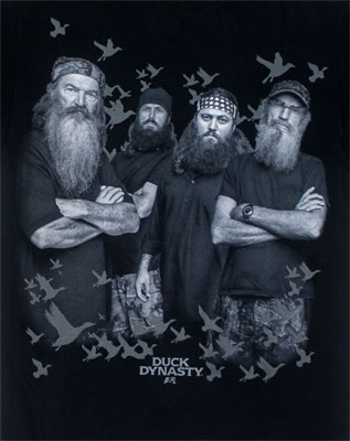 The Robertsons - Duck Dynasty T-shirt