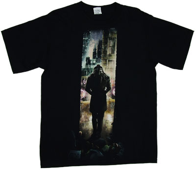 Rorschach Walking - Watchmen T-shirt