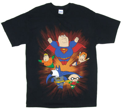 Super Friends - Family Guy T-shirt