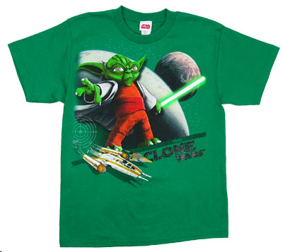 Yoda - Star Wars Clone Wars Boys T-shirt