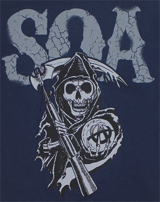 Reaper Crew (2 Sided) - Sons Of Anarchy T-shirt